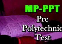 MP PPT Pre Polytechnic Test